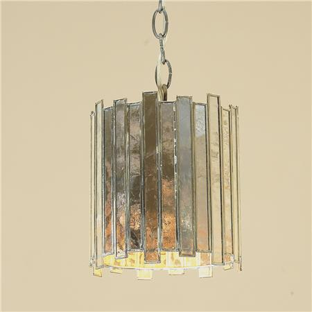 Shades of Light Mirrored High Rise Pendant view full size & Mirrored Pendant - Look 4 Less and Steals and Deals.