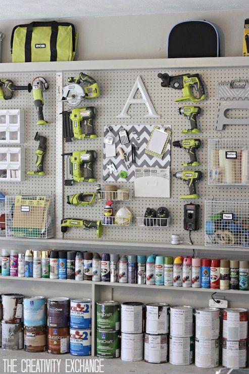 Garages Closet Shelving Unit Design Ideas