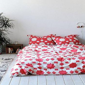 Magical Thinking Star Block Duvet Cover I Urban Outfitters