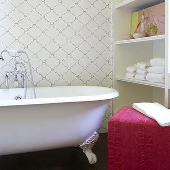 Arabesque Tiles, Contemporary, bathroom, Jan Ware Designs