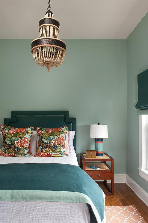 Teal walls design ideas for Bedroom ideas with teal walls
