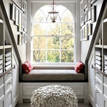 Reading Nook, Transitional, bedroom, Siemasko & Verbridge