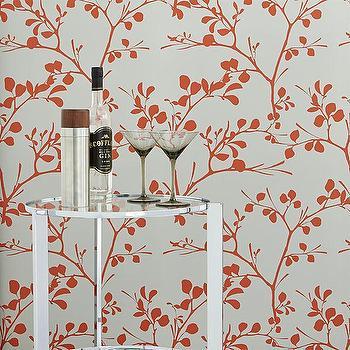 lilt self-adhesive wallpaper, CB2