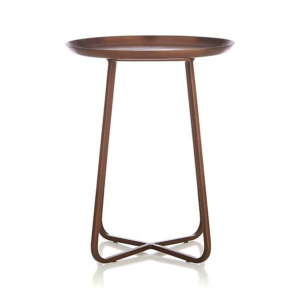 Attractive Penelope Copper Accent Table