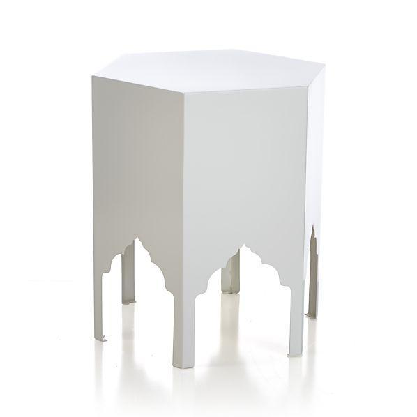 Jemma Ivory Side Table