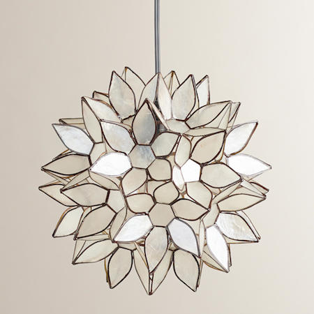 Lotus flower chandelier look for less view full size aloadofball Images