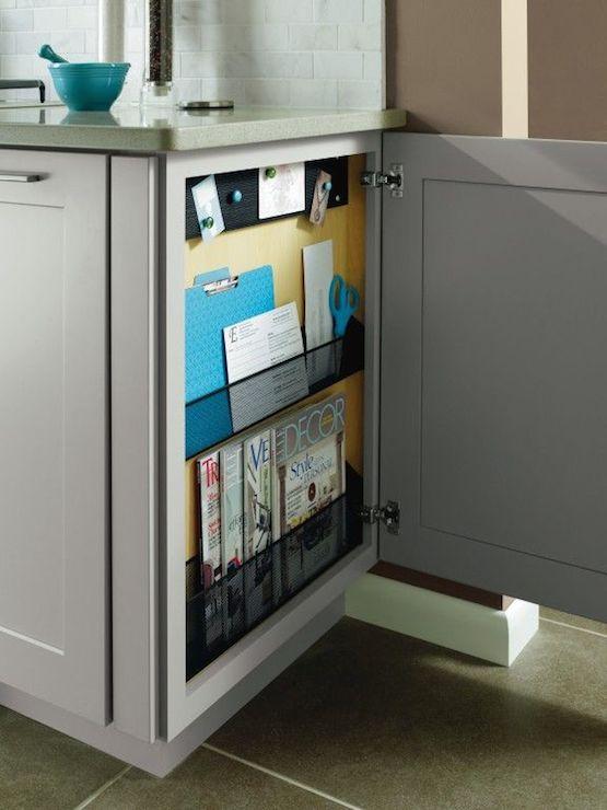 Kitchen Message Board - Contemporary - kitchen