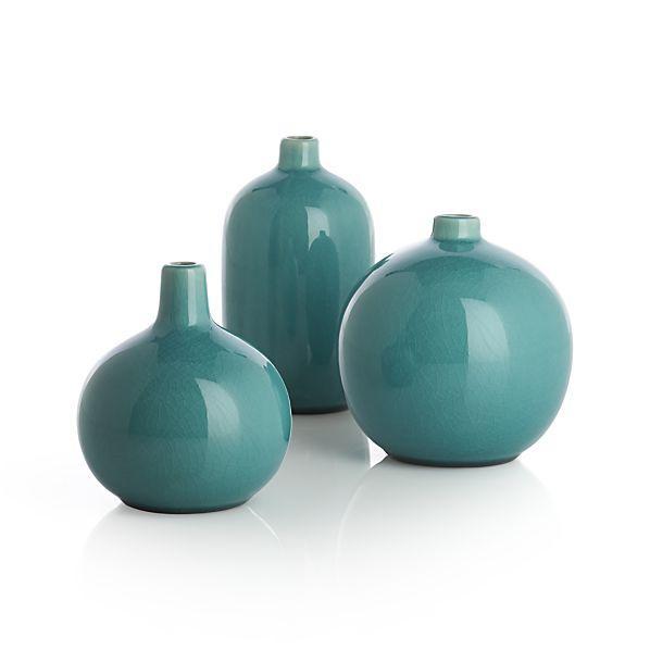 Perry Blue Bud Vases