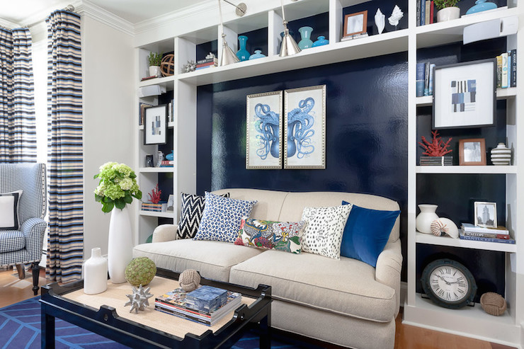 Living Room Built Ins Contemporary Living Room Rachel Reider Interiors