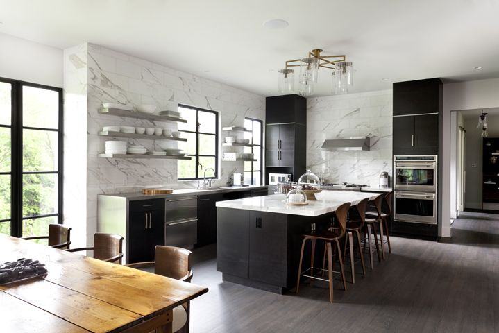 Countertop Overhang Transitional Kitchen Mdd Architects