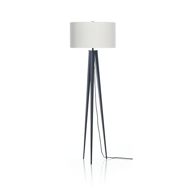 Checkmate blue floor lamp base theo blue floor lamp aloadofball Images