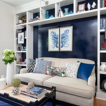 Living Room Built Ins, Contemporary, living room, Rachel Reider Interiors