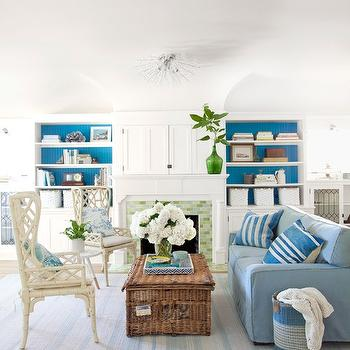 Azure Paint Colors, Country, living room, Olympic Fantasty, Country Living