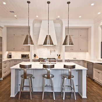 Light Gray Cabinets, Contemporary, kitchen, Benco Construction