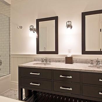 Hutton Double Washstand, Transitional, bathroom, Benco Construction