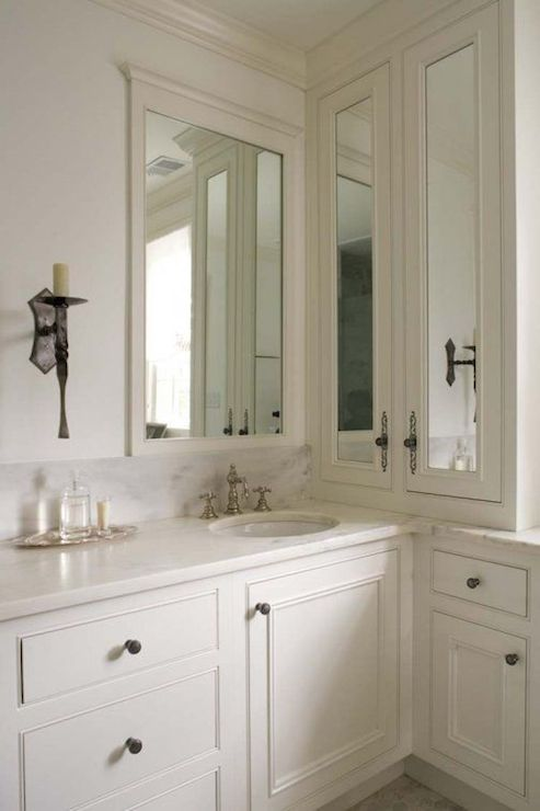 L Shaped Vanity Design Ideas