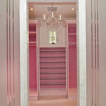 Pink Closet, Contemporary, closet, Classy Closets