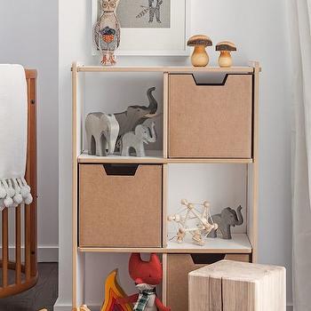 Toy Storage Nursery, Contemporary, nursery, Sissy and Marley