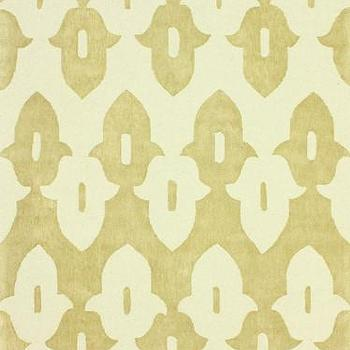 Honor Wool and Cotton Area Rug in Gold design by NuLoom I Burke Decor