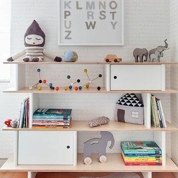 Oeuf Mini Library, Contemporary, nursery, Sissy and Marley