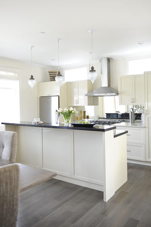 Cream Kitchen Cabinets Contemporary Kitchen Tracey Ayton Photography
