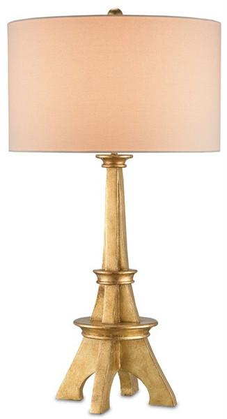 Gold table lamp eiffel gold table lamp aloadofball Images