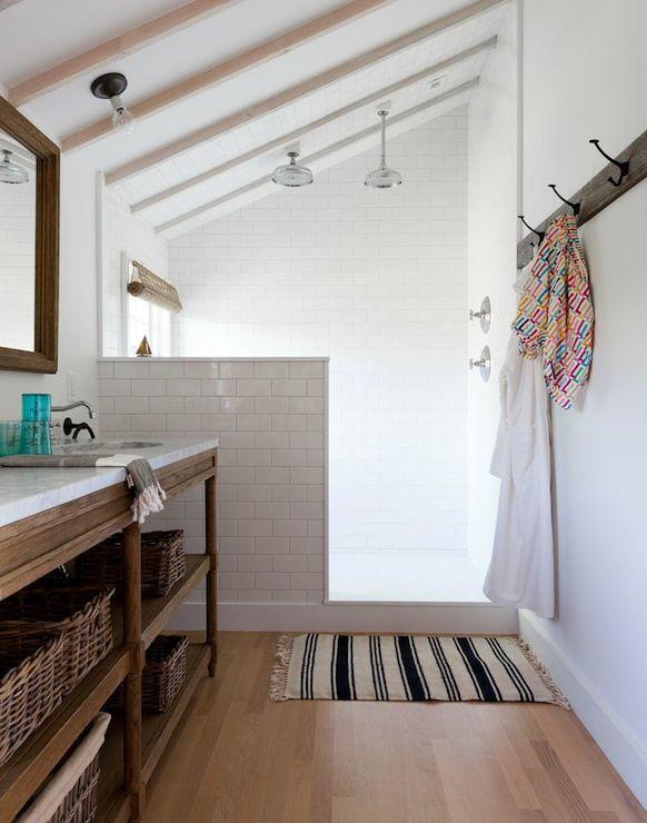 Innovative Bathroom Lighting For A Sloped Ceiling  Residential Lighting
