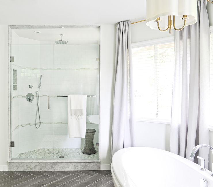 curved shower contemporary bathroom tracey ayton