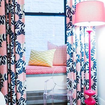 Kids Window Seat, Contemporary, girl's room, L Kate Interiors