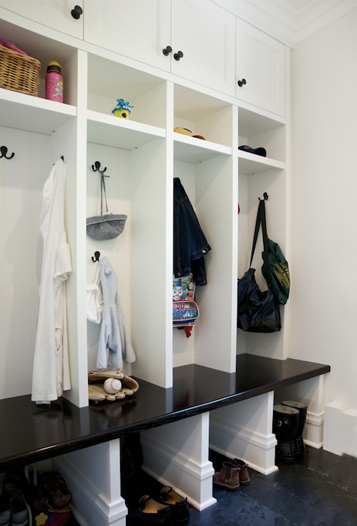 Kids Mudroom Lockers Traditional Laundry Room Scott