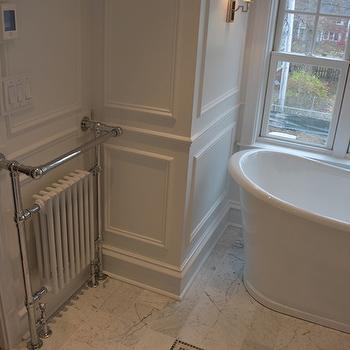 Towel Radiator, Transitional, bathroom, Scott Lyon & Company