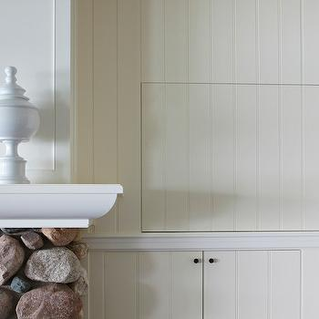 Beadboard Paneling Design Ideas