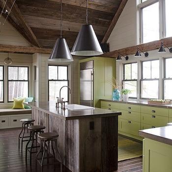 Olive Green Paint Colors, Country, kitchen, Valspar La Fonda Olive, Kristina Crestin Design