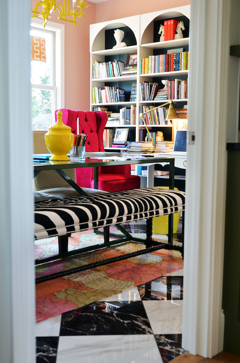 Ikea Billy Bookcase Hack Contemporary Den Library