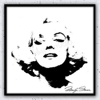 Wall Decor Home Decor Marilyn Monroe Marilyn by lulusimonSTUDIO I Etsy