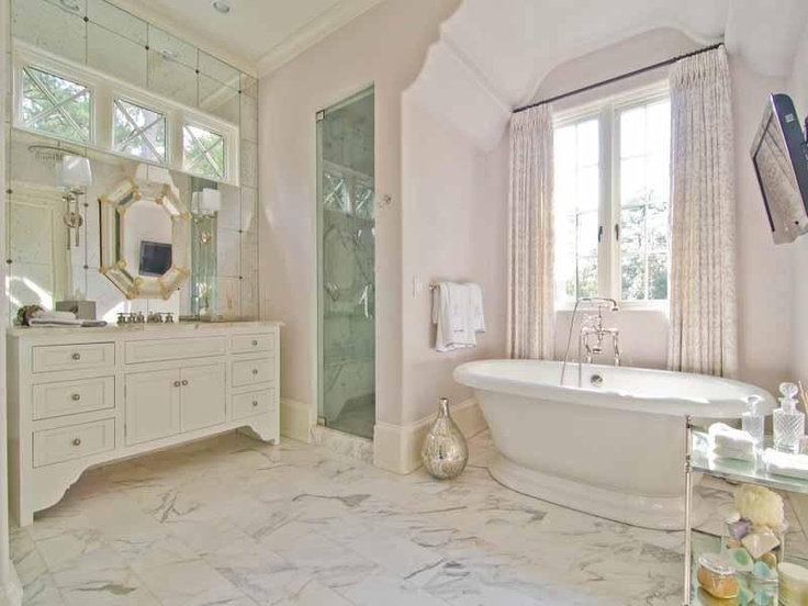 Arched Bathtub Nook Transitional Bathroom Pricey Pads