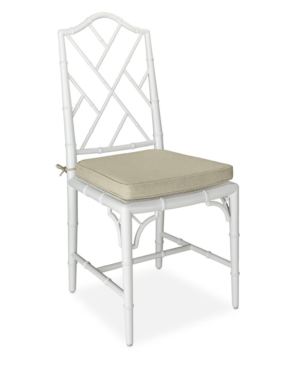 William sonoma home chippendale dining side chair look 4 less for Dining chairs for less