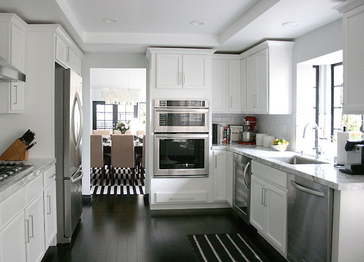 Tray Ceiling Kitchen Transitional Kitchen Erika Brechtel
