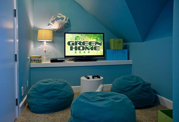 Kids Bedroom Tv tv room - cottage - boy's room - hgtv