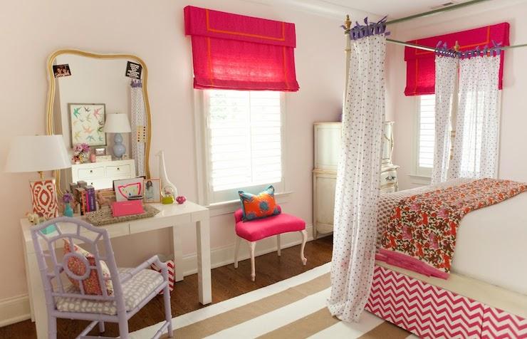 Chevron bedskirt contemporary girl 39 s room furbish studio for Bedroom design magazine