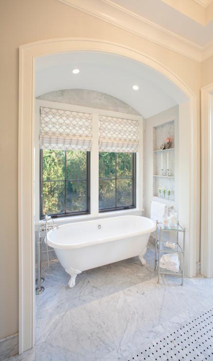 Bathtub Alcove Transitional Bathroom Thompson Custom