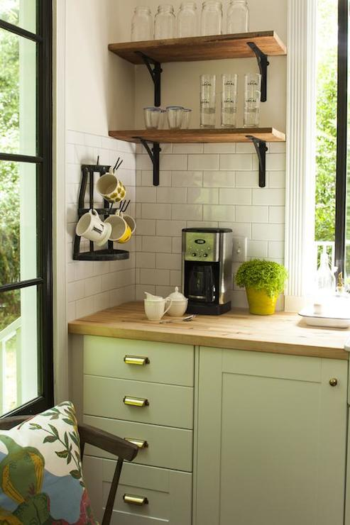 Small Corner Shelves For Kitchen