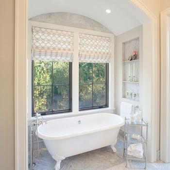 Arched Bathroom Alcove, Traditional, bathroom, Francesca Owings Interior Design