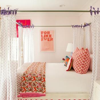 Bamboo Canopy Bed, Contemporary, girl's room, Furbish Studio