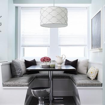 Window Seat Banquette, Contemporary, dining room, Laura Moss Photography