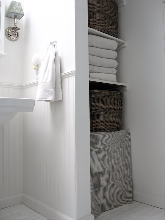 Linen Nook Transitional Bathroom Sherwin Williams