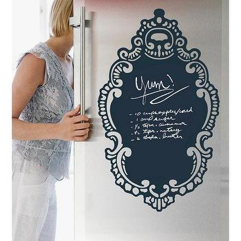 WallCandy Arts Rococo Chalk Decal, BLUEFLY