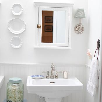 Pure White Paint Colors, Transitional, bathroom, Sherwin Williams Pure White, Grace Happens