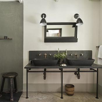 industrial bathrooms modern bathroom the satyagraha house