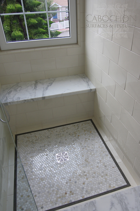 Floating Shower Bench Design Ideas